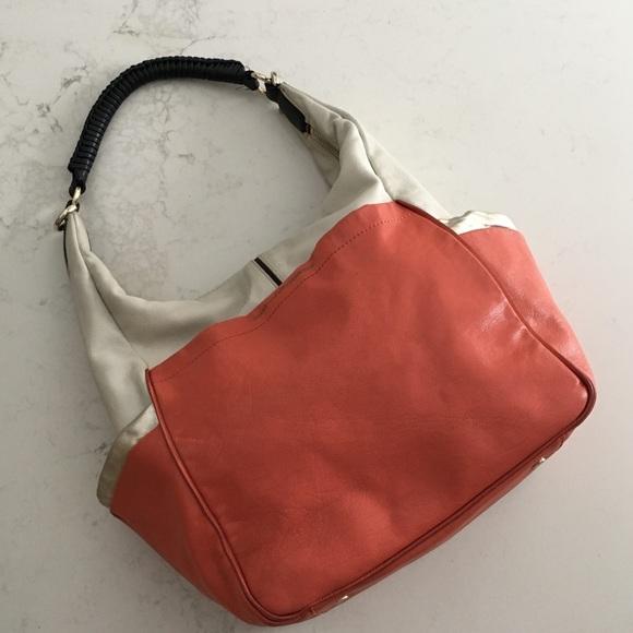 Diane Von Furstenberg Handbags - Diane Von Furstenberg color blocked hobo bag